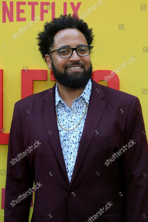 """Stock Photo of Diallo Riddle attends the LA Premiere of """"Sextuplets"""" at the Arclight Hollywood, in Los Angeles"""