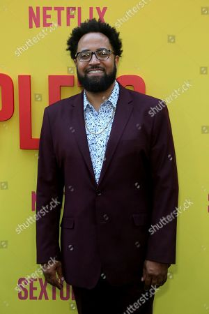 """Diallo Riddle attends the LA Premiere of """"Sextuplets"""" at the Arclight Hollywood, in Los Angeles"""