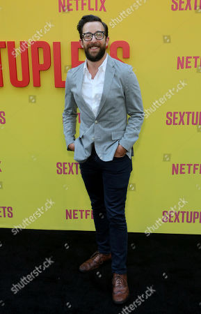 """Stock Picture of Adam Rose attends the LA Premiere of """"Sextuplets"""" at the Arclight Hollywood, in Los Angeles"""