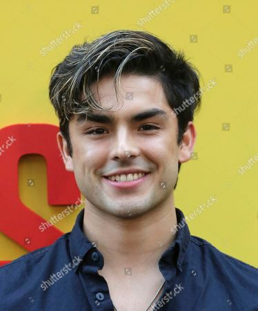 "Diego Tinoco attends the LA Premiere of ""Sextuplets"" at the Arclight Hollywood, in Los Angeles"