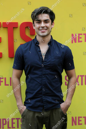 "Stock Photo of Diego Tinoco attends the LA Premiere of ""Sextuplets"" at the Arclight Hollywood, in Los Angeles"