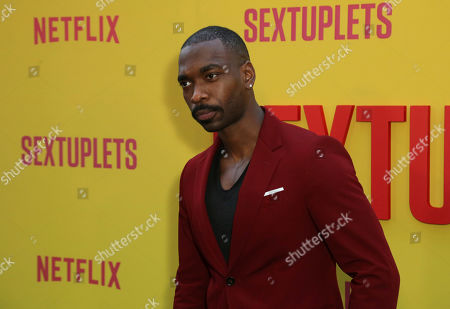 "Stock Picture of Jay Pharoah attends the LA Premiere of ""Sextuplets"" at the Arclight Hollywood, in Los Angeles"