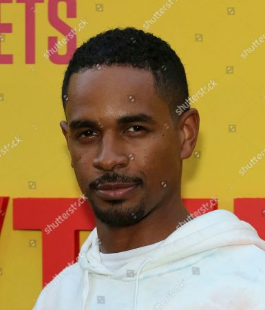"Damon Wayans Jr. attends the LA Premiere of ""Sextuplets"" at the Arclight Hollywood, in Los Angeles"