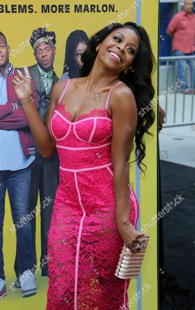 "Bresha Webb attends the LA Premiere of ""Sextuplets"" at the Arclight Hollywood, in Los Angeles"