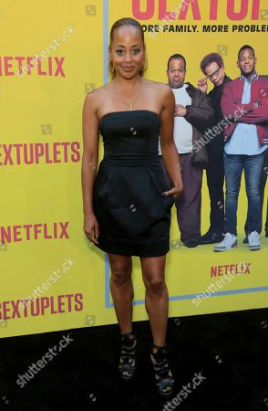 "Essence Atkins attends the LA Premiere of ""Sextuplets"" at the Arclight Hollywood, in Los Angeles"