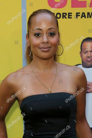 "Stock Image of Essence Atkins attends the LA Premiere of ""Sextuplets"" at the Arclight Hollywood, in Los Angeles"