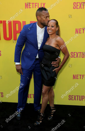 """Editorial image of LA Premiere of """"Sextuplets"""", Los Angeles, USA - 07 Aug 2019"""