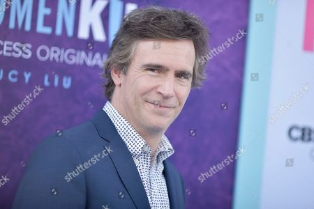 """Jack Davenport attends the LA premiere of """"Why Women Kill"""" at the Wallis Annenberg Center for the Performing Arts, in Beverly Hills, Calif"""