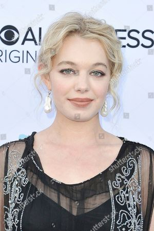 """Sadie Calvano attends the LA premiere of """"Why Women Kill"""" at the Wallis Annenberg Center for the Performing Arts, in Beverly Hills, Calif"""