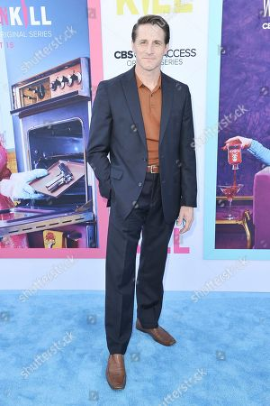 """Sam Jaeger attends the LA premiere of """"Why Women Kill"""" at the Wallis Annenberg Center for the Performing Arts, in Beverly Hills, Calif"""