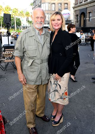 Gerald McRaney and Kim Cattrall