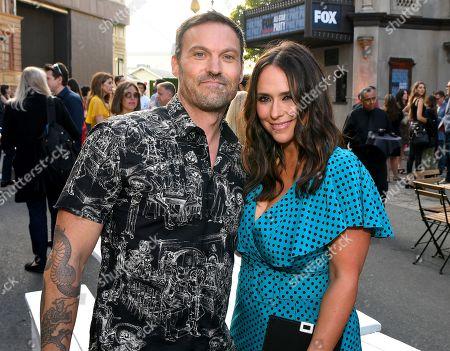 Brian Austin Green and Jennifer Love Hewitt
