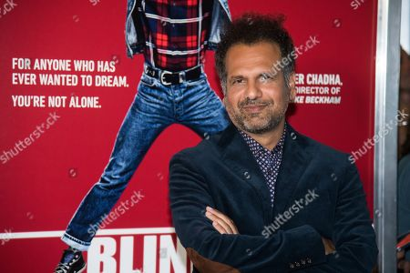 """Sarfraz Manzoor attends the premiere of """"Blinded by the Light"""" at the Paramount Theater, in Asbury Park, NJ"""