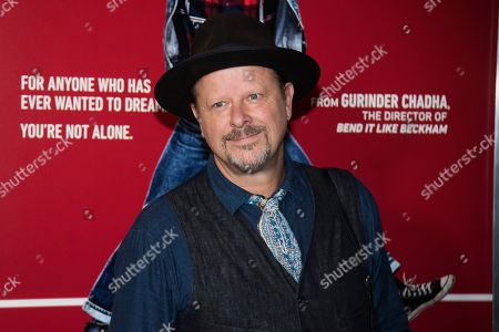 """Stock Photo of Danny Clinch attends the premiere of """"Blinded by the Light"""" at the Paramount Theater, in Asbury Park, NJ"""