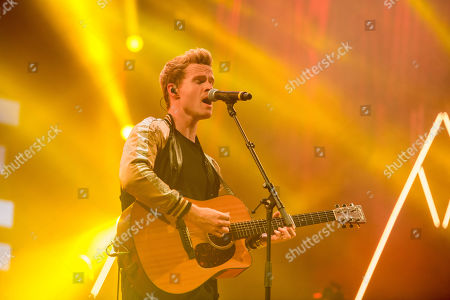 Steve Garrigan of the Irish rock band Kodaline performs during their concert at the 27th Sziget (Island) Festival on Shipyard Island, northern Budapest, Hungary, 07 August 2019 (issued on 08 August). This year the festival runs from 07 to 13 August.