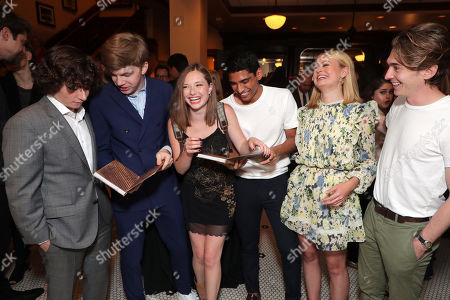 Stock Photo of Austin Zajur, Gabriel Rush, Zoe Margaret Colletti, Michael Garza, Natalie Ganzhorn and Austin Abrams