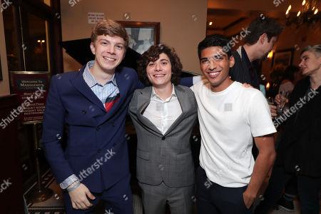 Gabriel Rush, Austin Zajur and Michael Garza