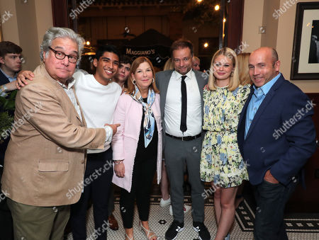 Producer Sean Daniel, Michael Garza, Terry Press - President of CBS Films, Director Andre Ovredal, Natalie Ganzhorn and Producer J. Miles Dale