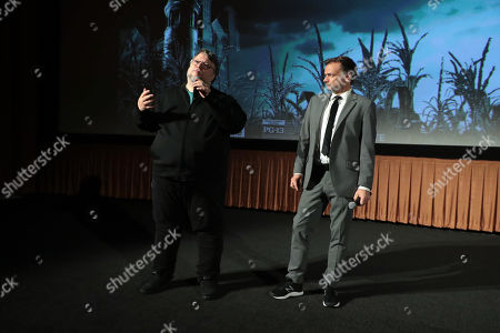 Producer Guillermo Del Toro and Director Andre Øvredal