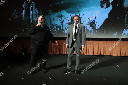 Producer Guillermo Del Toro and Director Andre Ovredal