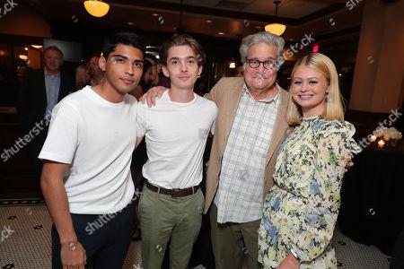 Michael Garza, Austin Abrams, Producer Sean Daniel and Natalie Ganzhorn