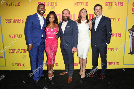 Editorial image of 'Sextuplets' film premiere, Arrivals, Los Angeles, USA - 07 Aug 2019