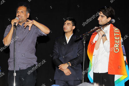 Sarfraz Manzoor, Aaron Phagura and Vivelk Kalra