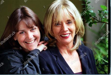 Stock Photo of (l-r) Actresses Deborah Mcandrew And Sue Johnston.