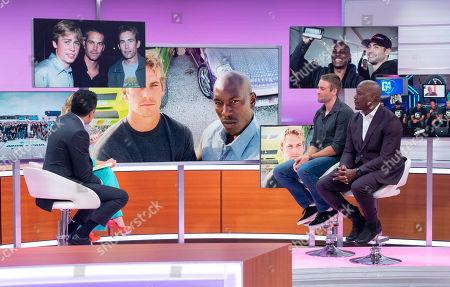 Editorial photo of 'Good Morning Britain' TV show, London, UK - 08 Aug 2019