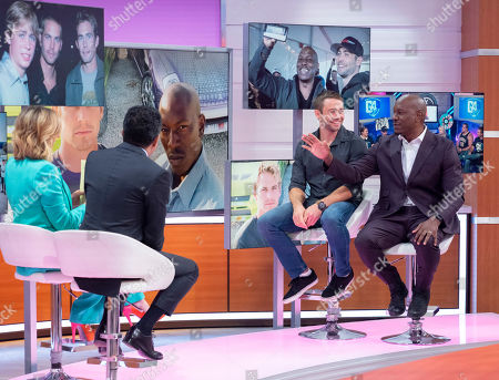 Kate Garraway, Adil Ray, Cody Walker and Tyrese Gibson