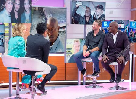 Stock Image of Kate Garraway, Adil Ray, Cody Walker and Tyrese Gibson