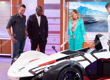 Stock Image of Cody Walker, Tyrese Gibson and Kate Garraway