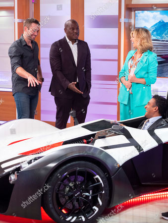 Stock Photo of Cody Walker, Tyrese Gibson and Kate Garraway