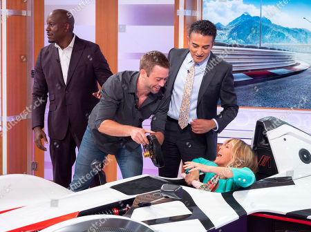 Cody Walker, Tyrese Gibson, Adil Ray and Kate Garraway