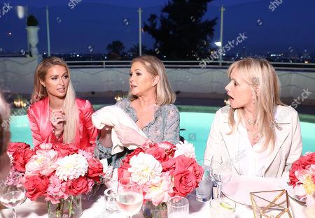Paris Hilton, Kathy Hilton, Rosanna Arquette