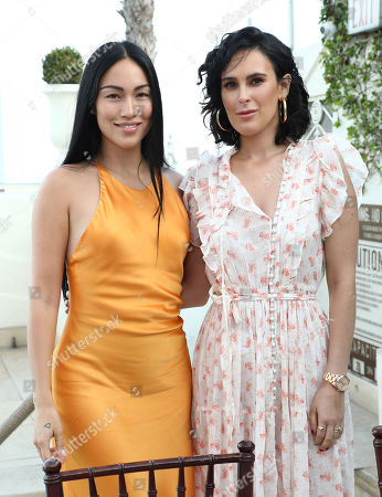 Editorial image of Rumer Willis hosts Dinner Party for Cindy Eckert's Right To Desire Campaign, Sunset Tower Hotel, Los Angeles, USA - 07 Aug 2019