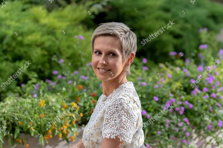 Editorial image of First Lady Asma al-Assad interview, Damascus, Syria - 03 Aug 2019