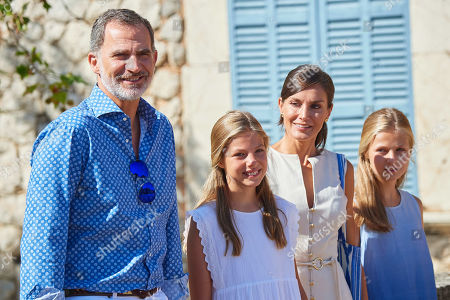 Spanish Royals visit to Son Marroig Museum, Majorca