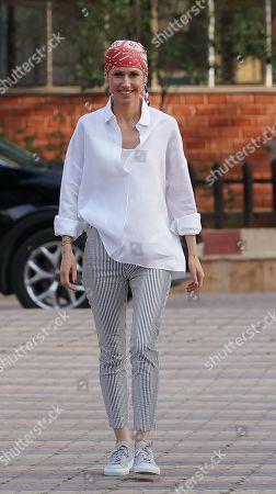 Stock Image of Asma al-Assad, wife of Syrian President Bashar al-Assad