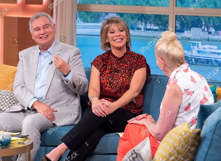 Eamonn Holmes and Ruth Langsford with Lady Colin Campbell