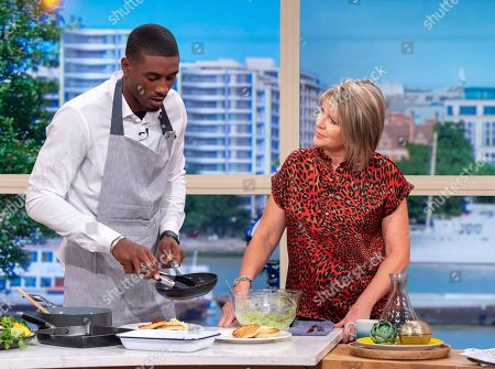 Ovie Soko and Ruth Langsford