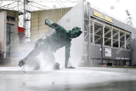Stock Image of A general view of the Sir Tom Finney statue