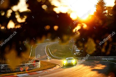 Stock Image of Porsche 911 GT3 R, Frikadelli Racing Team (31), Romain Dumas (F), Sven Müller (D), Mathieu Jaminet (F), Matt Campbell (AUS)  24 H Nürburgring 2019