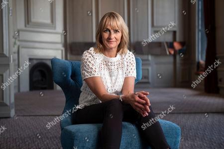 Stock Image of BBC presenter Louise Minchin