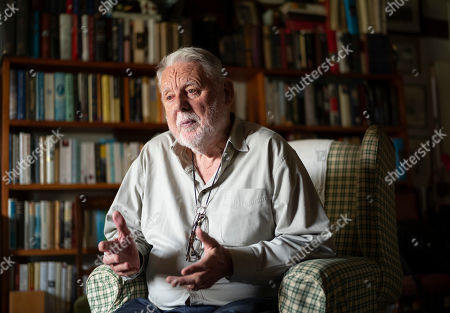 Editorial photo of Terry Waite photoshoot, Hartness, Suffolk, UK - 22 May 2019