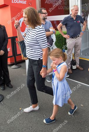 Carole Middleton and Princess Charlotte