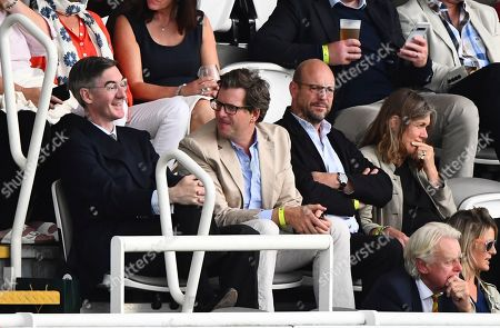 Jacob Rees-Mogg attends day 4 with food critic William Sitwell