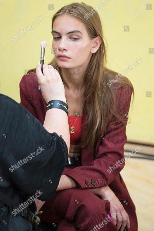 Stock Image of Nina Marker backstage