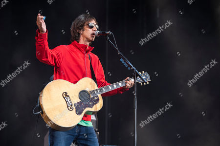 English singer and songwriter Richard Ashcroft performs at the 27th Sziget (Island) Festival on Shipyard Island, Northern Budapest, Hungary, 08 August 2019. The festival is one of the biggest cultural events of Europe offering art exhibitions, theatrical and circus performances and above all music concerts in seven days.