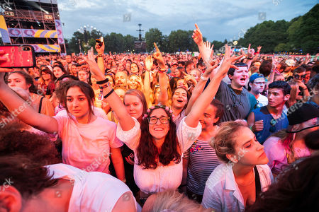 Editorial image of 27th Sziget Festival on Shipyard Island, Budapest, Hungary - 08 Aug 2019